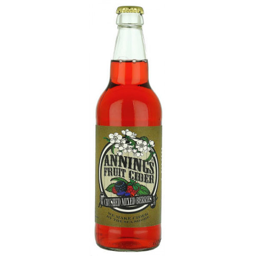 Annings Crushed Mixed Berries Fruit Cider