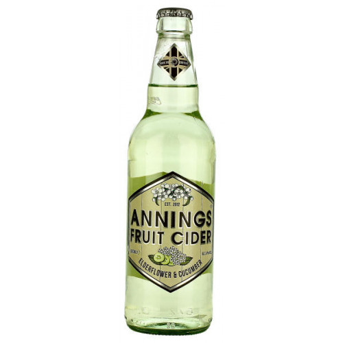Annings Elderflower and Cucumber Fruit Cider
