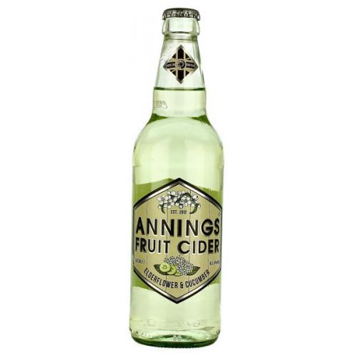 Annings Elderflower and Cucumber Fruit Cider