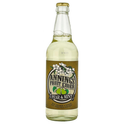 Annings Pear and Mint Fruit Cider