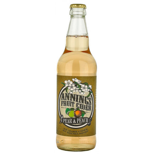 Annings Pear and Peach Fruit Cider