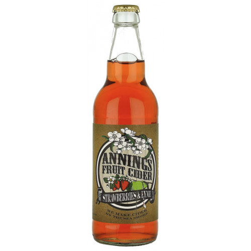 Annings Strawberry and Lyme Fruit Cider