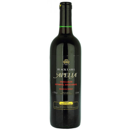 Apelia Black Label Medium Sweet Red Wine