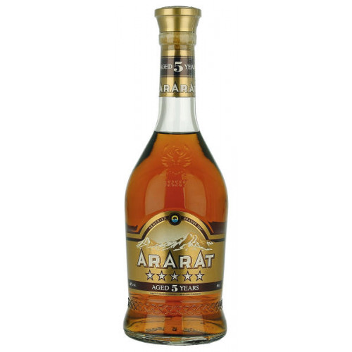 Ararat Armenian 5 Year Old Brandy