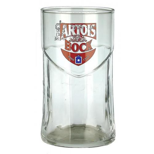 Artois Bock Tumbler Glass (Half Pint)