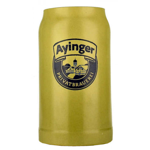 Ayinger Pottery Stein 1L