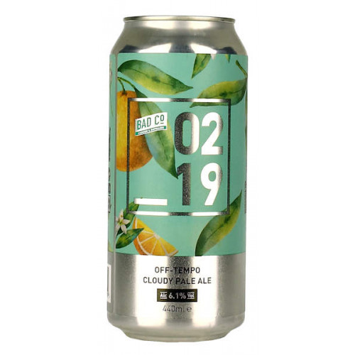 BAD 02 19 Off Tempo Cloudy Pale Ale Can
