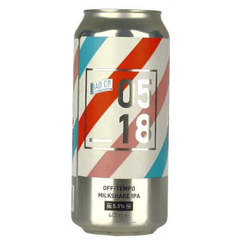 BAD 05 18 Off Tempo Milkshake IPA Can