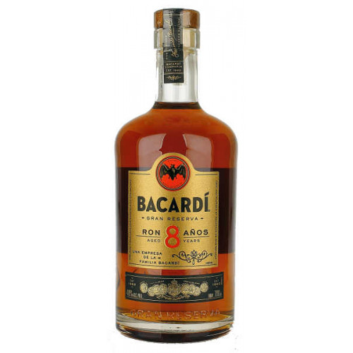 Bacardi 8 Year Old