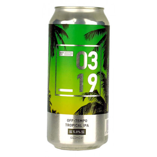 BAD 03 19 Off-Tempo Tropical IPA Can
