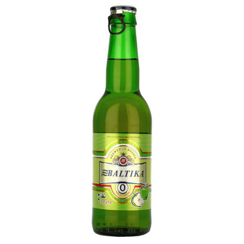 Baltika No0 Alcohol Free Apple