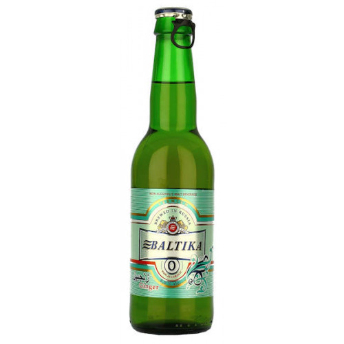 Baltika No0 Alcohol Free Ginger