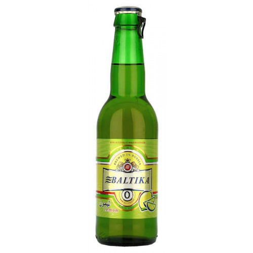 Baltika No0 Alcohol Free Lemon