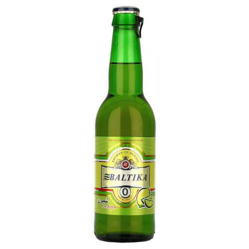 Baltika No0 Alcohol Free Lemon