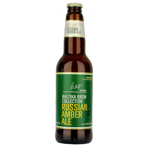 Baltika Brew Collection Russian Amber Ale
