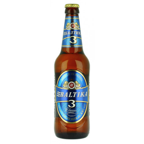 Baltika No3 Classic Lager