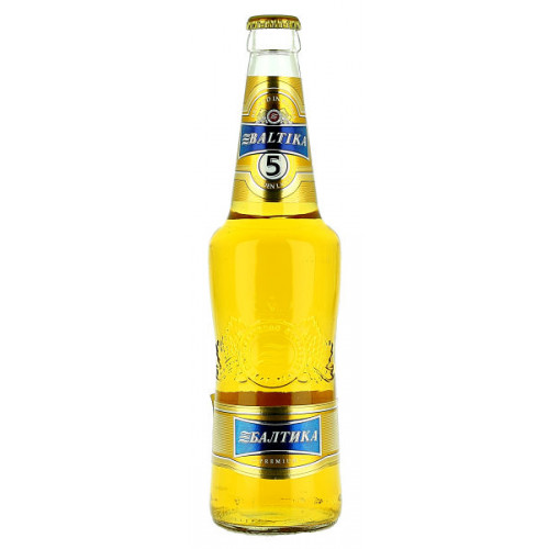 Baltika No5 Premium Golden Lager
