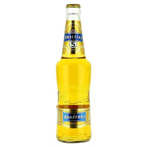 Baltika No5 Premium Golden Lager (B/B Date 24/06/19)