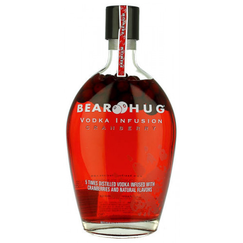 Bear Hug Vodka Infusion Cranberry