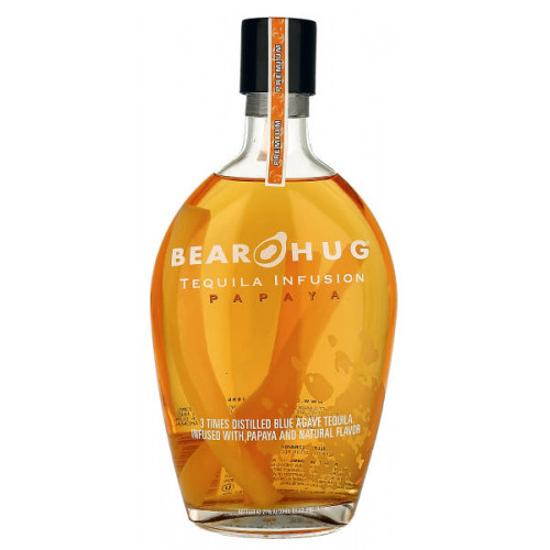 Bear Hug Tequila Infusion Papaya