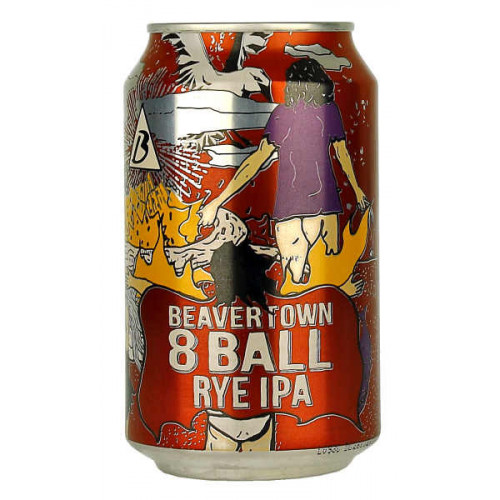Beavertown 8 Ball Rye IPA (B/B Date 17/04/19)