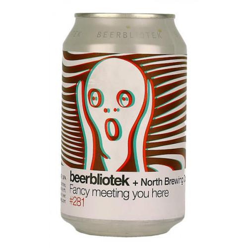 Beerbliotek/North Brewing Co Fancy Meeting You Here