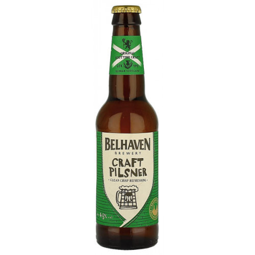 Belhaven Craft Pilsner (B/B Date End 01/19)