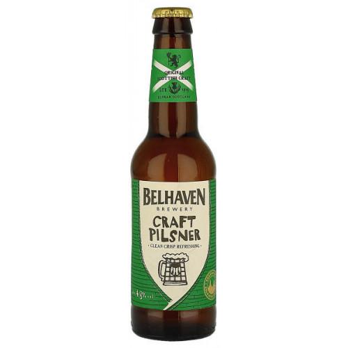 Belhaven Craft Pilsner (B/B Date End 08/19)
