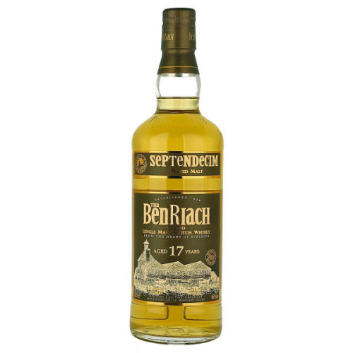 Benriach Septendecim Peated Aged 17 Years