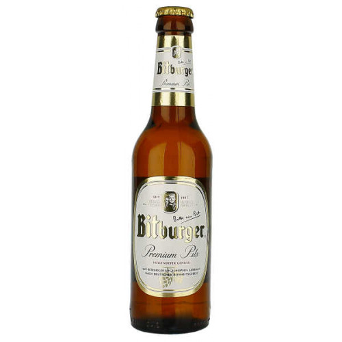 Bitburger Pils 330ml (Bottle)