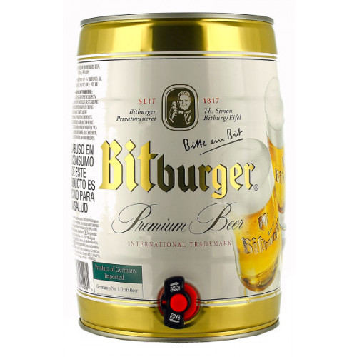 Bitburger Pils 5 Litre Can