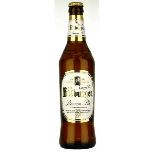 Bitburger Pils 500ml (Bottle)
