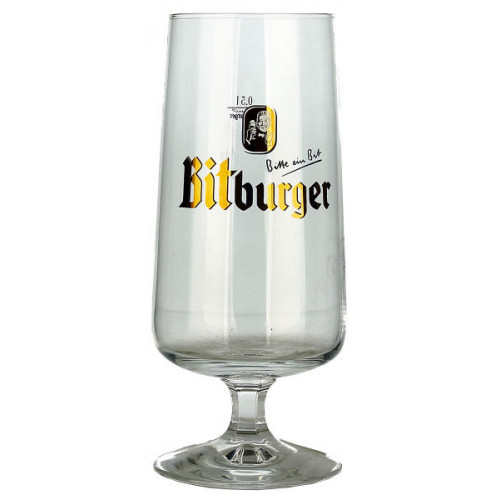 Bitburger Pokal Glass 0.5L