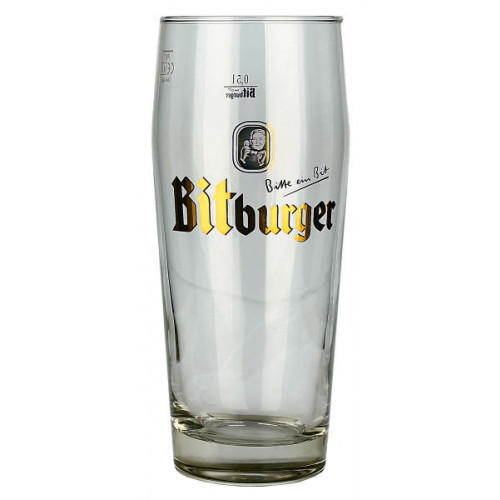 Bitburger Glass (0.5L/Pint)