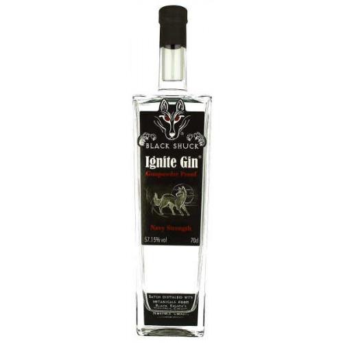 Black Shuck Ignite Gin 700ml