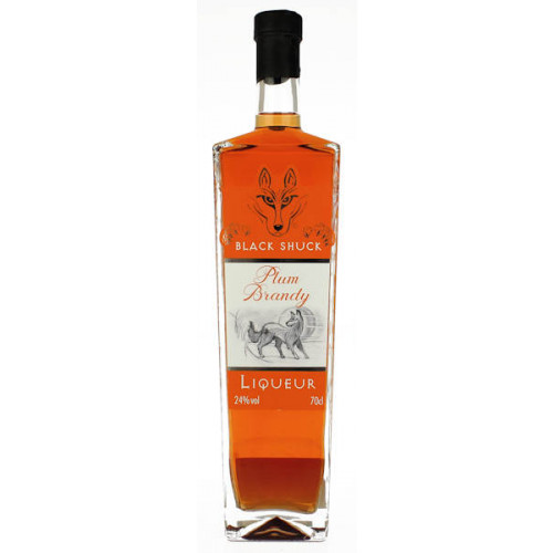 Black Shuck Plum Brandy 700ml