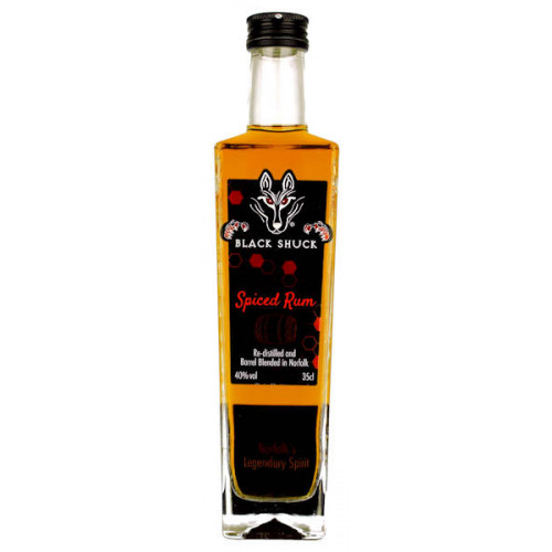 Black Shuck Spiced Rum 350ml