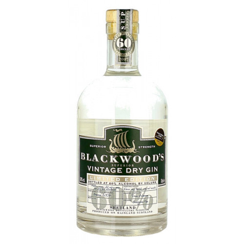 Blackwoods Vintage Dry Gin Limited Edition