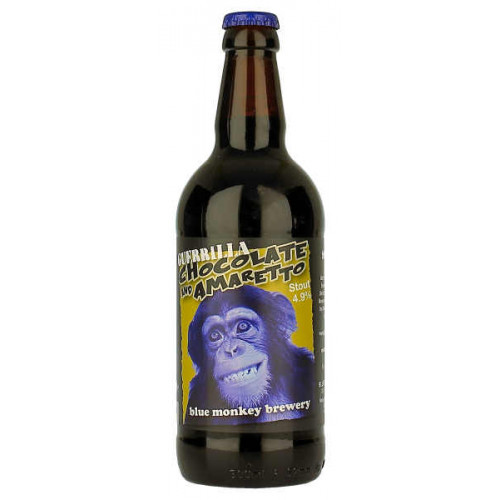 Blue Monkey Chocolate Amaretto Guerrilla