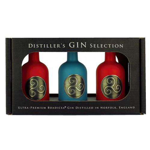 Boadicea Distillers Gin Selection