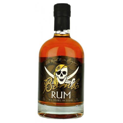Bombo Rum with Caramel and Banana