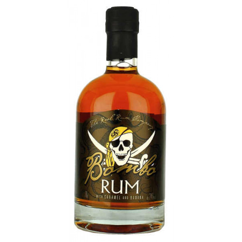Bombo Rum with Caramel and Banana