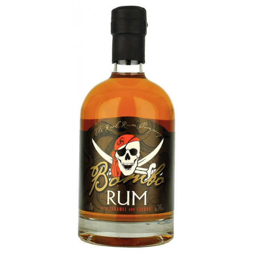 Bombo Rum with Caramel and Coconut