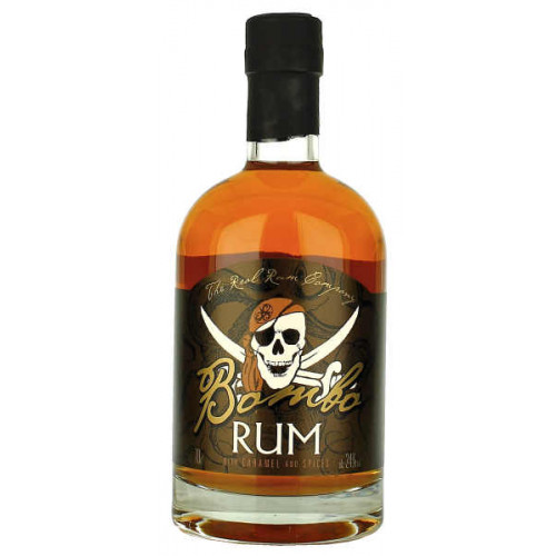 Bombo Rum with Caramel and Spices