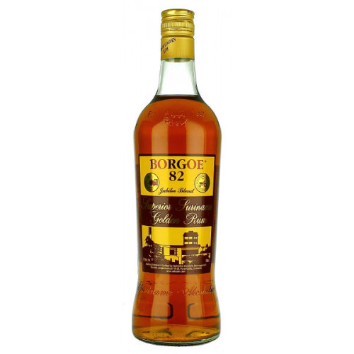 Borgoe 82 Superior Suriname Golden Rum