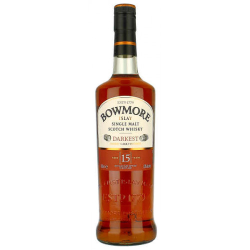 Bowmore Darkest Sherry Casked 15 Year Old