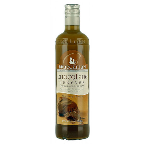 Braeckman Chocolate Cream Jenever