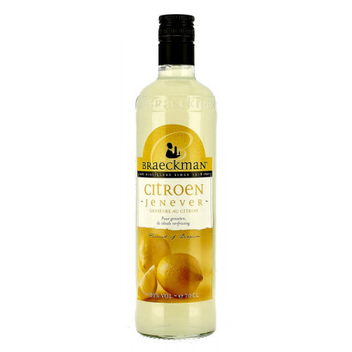 Braeckman Lemon Jenever