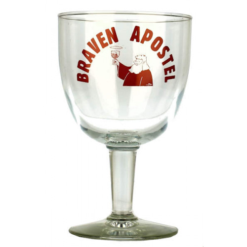 Braven Apostel Chalice (Red Logo) Glass