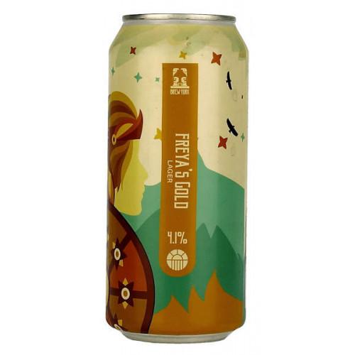 Brew York Freyas Gold Can